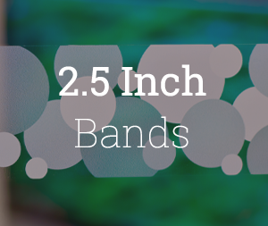2.5 Inch Bands
