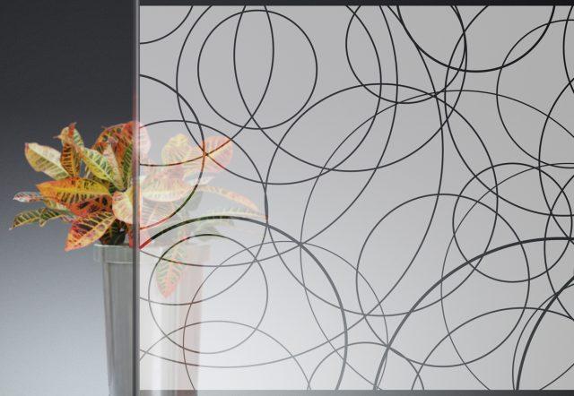 Glass Pattern Window Decal